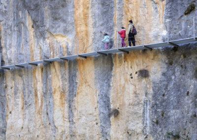 Ruta de las pasarelas - Foto: Nacho Pardinilla