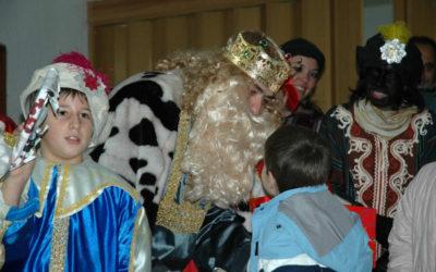 Los Reyes Magos llegan al Vero