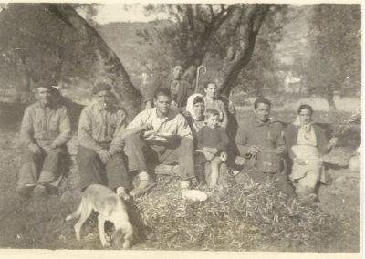 Rematadura en el campo 1 Salas Altas 1960