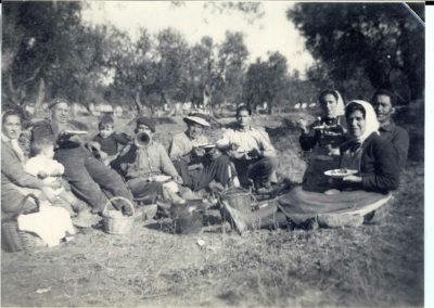 Rematadura en el campo 2 Salas Altas 1960