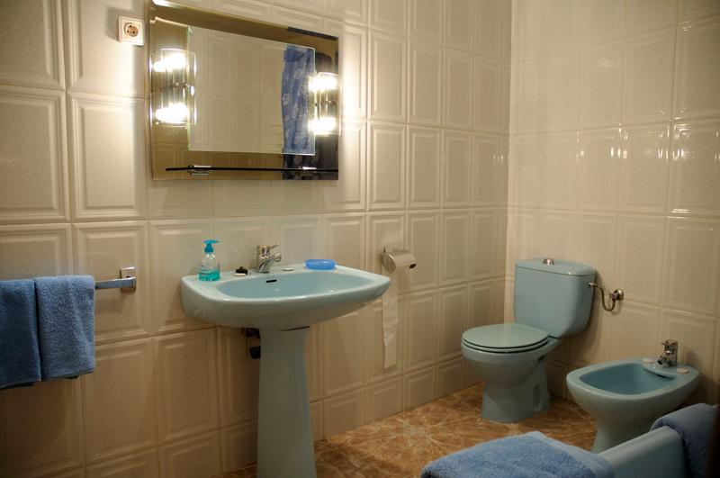 Casa rural A Plazeta baño