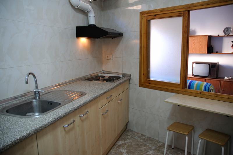 Casa rural A Plazeta cocina