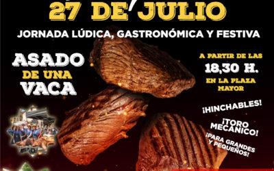 Gran parrillada en Radiquero, sábado 27 de julio