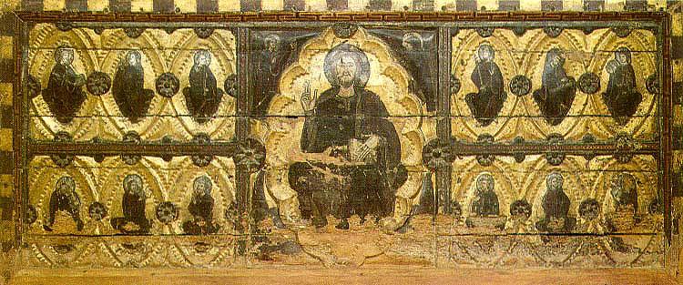 Pintura al temple sobre madera procedente de la Colegiata de Santa María la Blanca de Berbegal. Entró a formar parte del Museo Diocesano de Lleida en 1904
