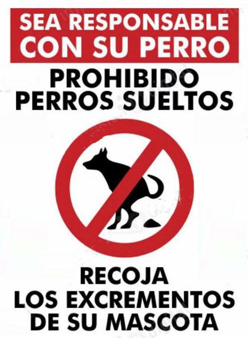 Comunicado sobre perros sueltos – Ayuntamiento Alquézar-Radiquero