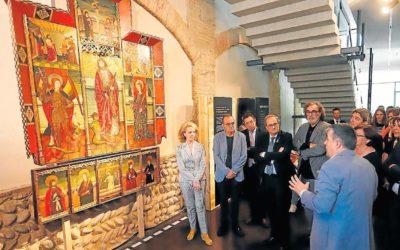 El retablo de San Fabián y San Sebastián de Radiquero, ¿en el Museo de Lérida?