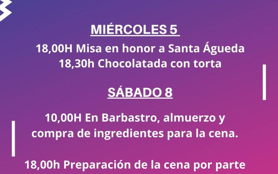 Santa Águeda 2020
